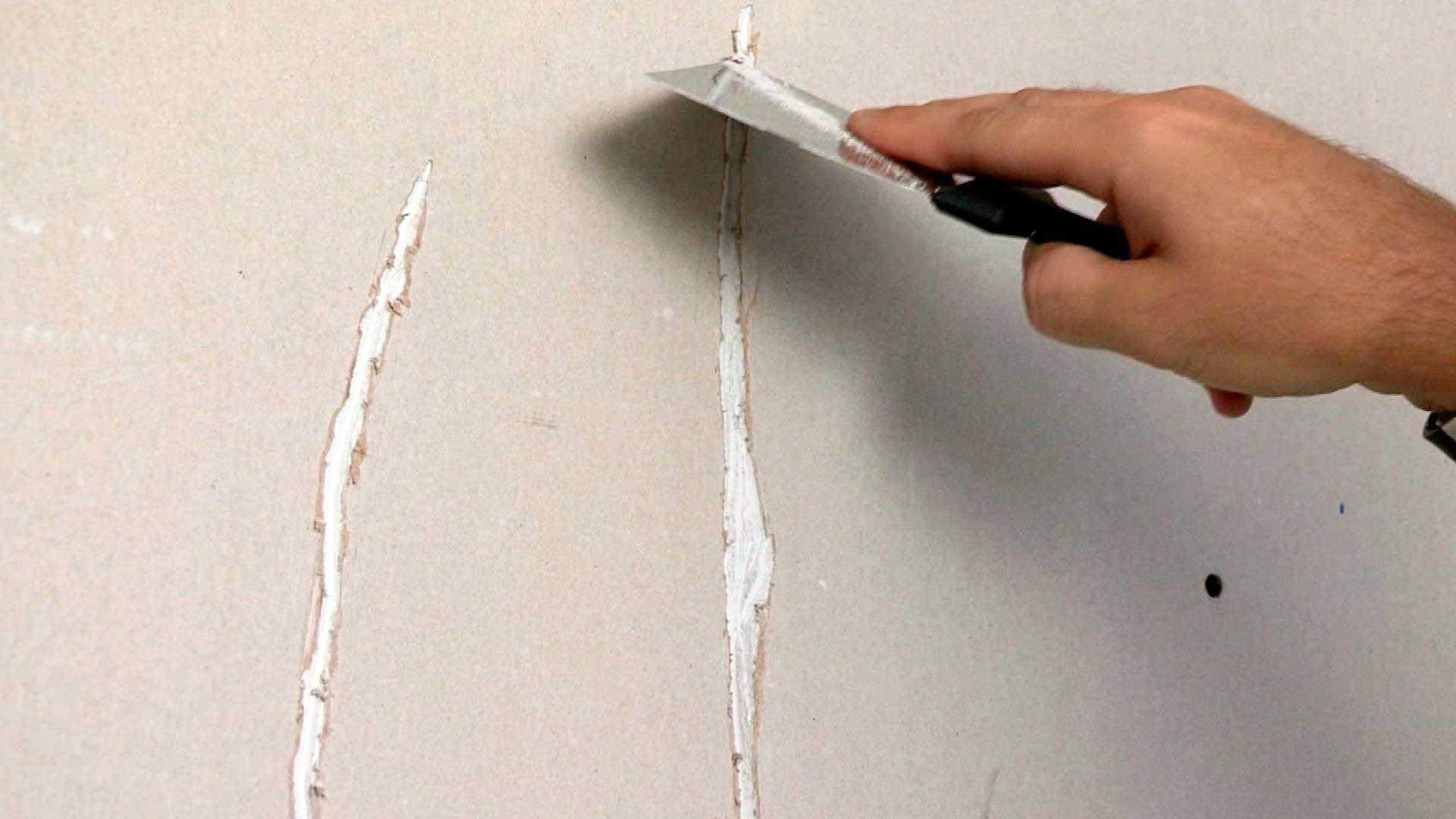 Заделка трещин в фасаде дома