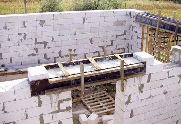 Строительство дома из газобетона (газоблоков) – поэтапно, от фундамента до крыши