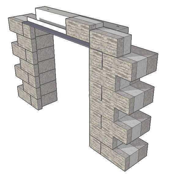 Как построить дом из газобетона (газоблока) своими силами Расчет количества газобетонных блоков технология кладка стен - порядовка армирование устройство перемычек межэтажных перекрыти