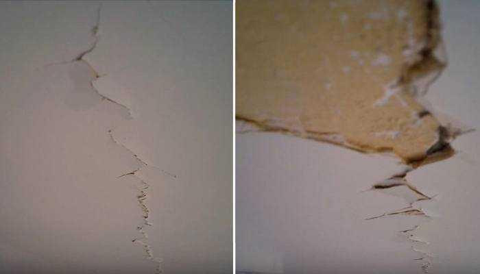 Как заделать трещины в штукатурке на стене: гипсовой, цементной