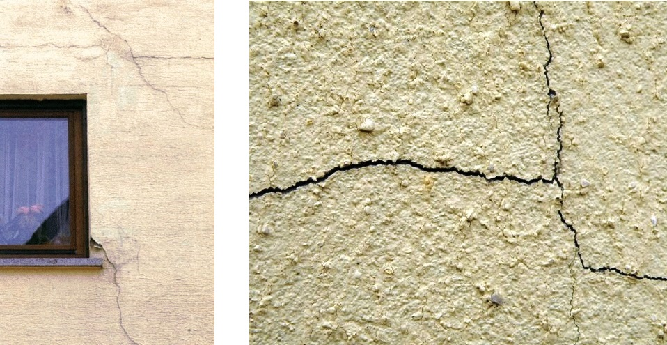 Почему в штукатурке появляются трещины, и как их устранить своими руками
