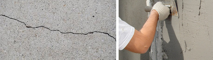 Простая заделка трещин в кирпичных и бетонных стенах: пошаговая инструкция