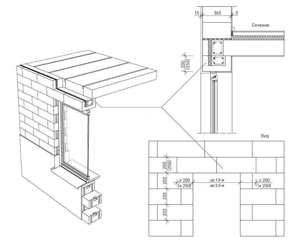 Строим дом из газобетона своими руками   (видео)